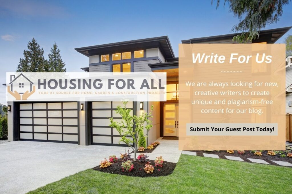 Housing for all - write for us